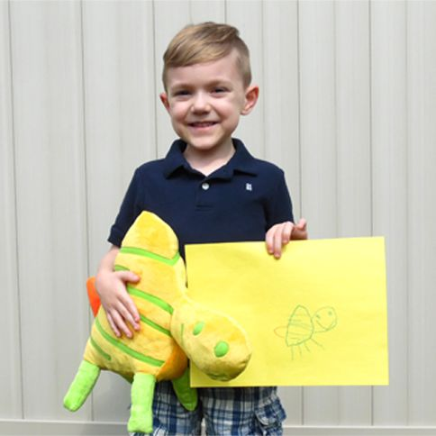 A boy with a gift