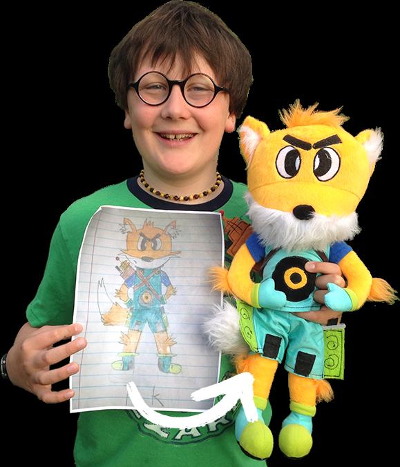 Turn any art into a real stuffed animal!